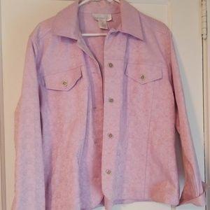 Susan Graver tapestry Jaquard Jacket